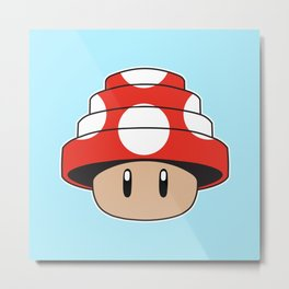 Are We Not Mushroom Metal Print