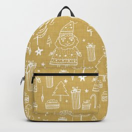 Santa Workshop Beige Backpack