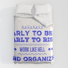Work & Organize Comforters