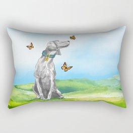 KIKI AND BUTTERFLIES Rectangular Pillow
