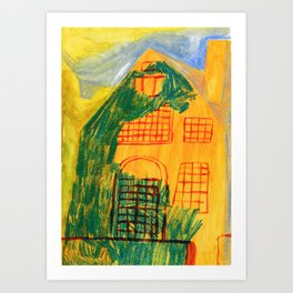Blessed old house Art Print