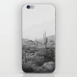 Wild West II - Black & White Version iPhone Skin