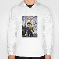 cowboy bebop Hoodies featuring Cowboy Bebop - A Walk In The Rain by MarioRojas