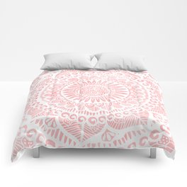 Blush Lace Comforters