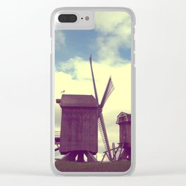 Wind mills Clear iPhone Case