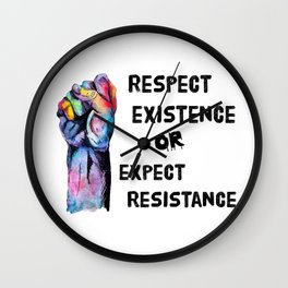 Respect or Expect Wall Clock
