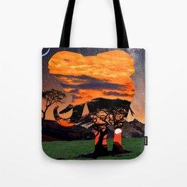 Elephant Skies Tote Bag