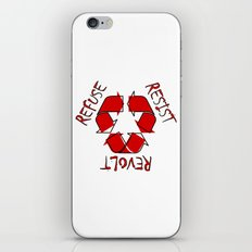 (Re) History in Reverse iPhone & iPod Skin