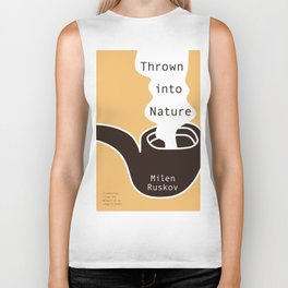 Thrown into Nature Biker Tank