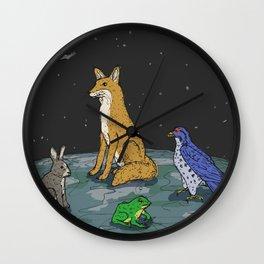 El Zorro de Estrella Wall Clock