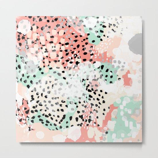 Phoebe abstract painting minimal gender neutral trendy for Trendy nursery ideas