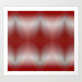 Red Blurr Abstract Diamond Art Print