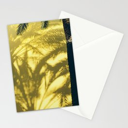 Palm Tree Shadows Stationery Cards