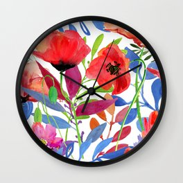 Summer Spring Wall Clock