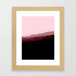 igneous rocks 2 Framed Art Print