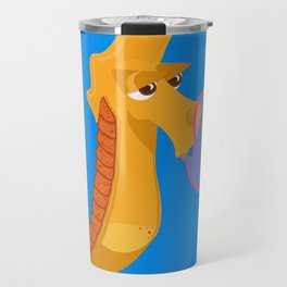 Character collection saltwater Sea Horse Travel Mug