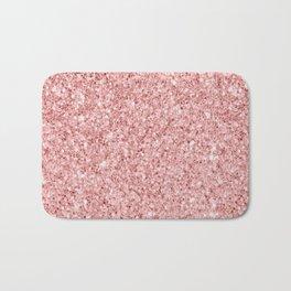 A Touch of Pink Glitter Bath Mat