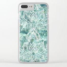 Aquaflora Clear iPhone Case