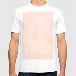 Simply Sweet Peach Coral Watercolor T-shirt