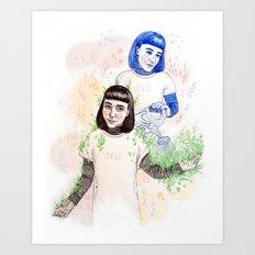 Nurture Yourself  Art Print