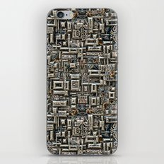 Abstract Metallic Structure iPhone & iPod Skin