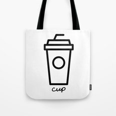 cup Tote Bag