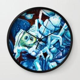 Escher's Scorpion Wall Clock