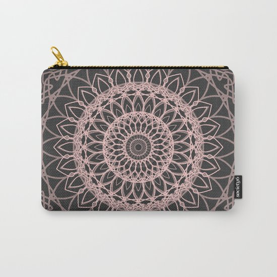 mandala rose quartz color of the year Carry-All Pouch