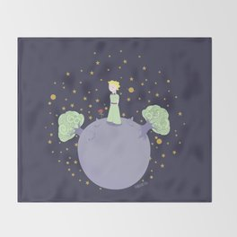 The little prince Throw Blanket