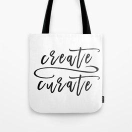 Create / Curate Tote Bag