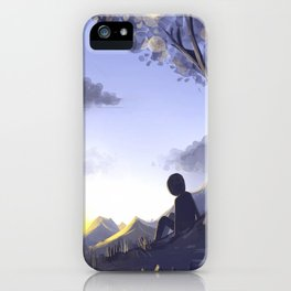 In the morning light iPhone Case