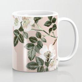 Bee Blackberry Bramble Coral Pink Coffee Mug