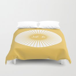 JUST BE YELLOW ENERGY Duvet Cover