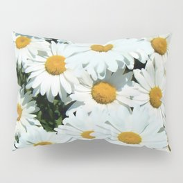 Daisies explode into flower Pillow Sham