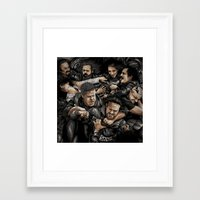 sons of anarchy Framed Art Prints featuring Sons of Anarchy-War by Denis O'Sullivan