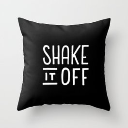 Shake it off #2 Throw Pillow