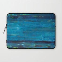 blue vertical Laptop Sleeve