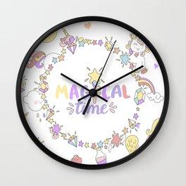 Magical Time Wall Clock