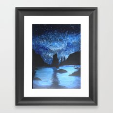 Starry Seas Framed Art Print