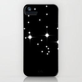 Mid Century Starry Night 2 iPhone Case