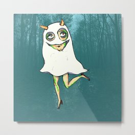 Little Ghost Metal Print