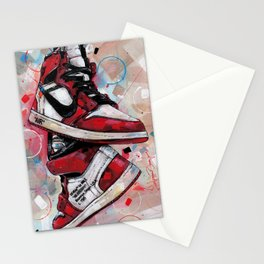 Air Jordan 1 High Off White  Stationery Cards