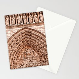 Notre Dame Mural Stationery Cards