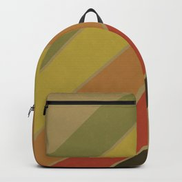 Retro Circus Color Palette Backpack