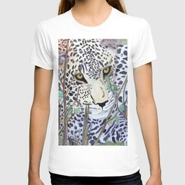 Never Resting - Leopard by Maureen Donovan T-shirt