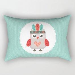 HIPSTER OWLET alternate version Rectangular Pillow