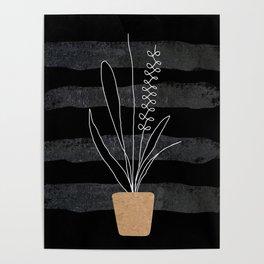 Scandi Plant 2 Poster