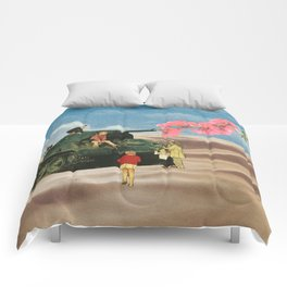 Love Not War Comforters
