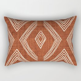 Birch in Rust Rectangular Pillow