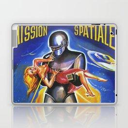 Mission Spatiale Laptop & iPad Skin